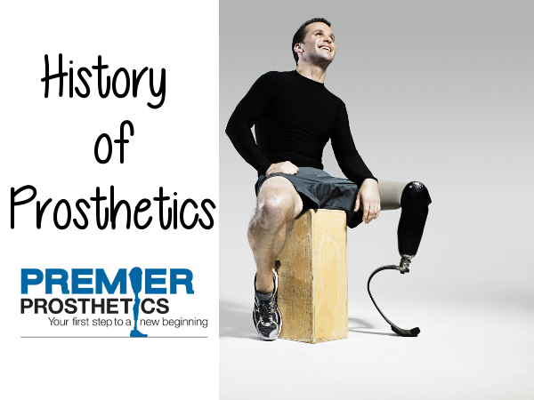 The history behind Prosthetic limbs is pretty amazing!