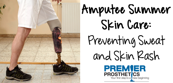 Keep your sensitive residual limb skin cool, clean and comfy this summer.