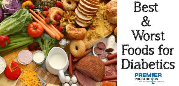 A list of foods diabetics should be eating and should be avoiding.